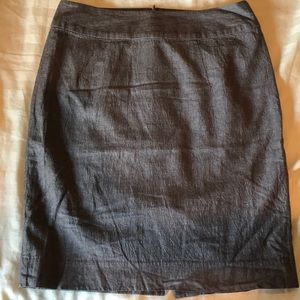 Banana Republic Brown Pencil Skirt